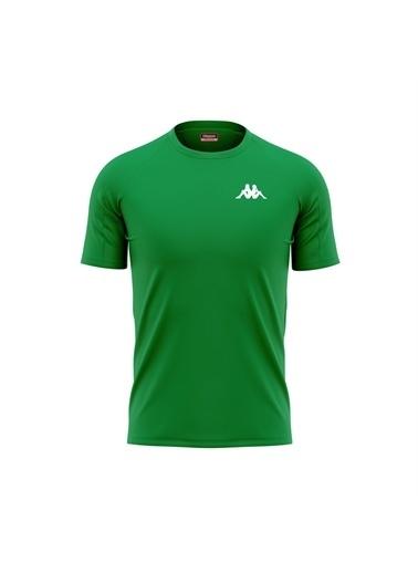 Kappa Poly T-Shirt Bux Yeşil